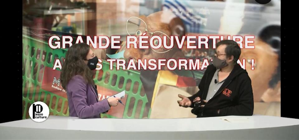 Pause Culture TVCOM - Alain Moreau